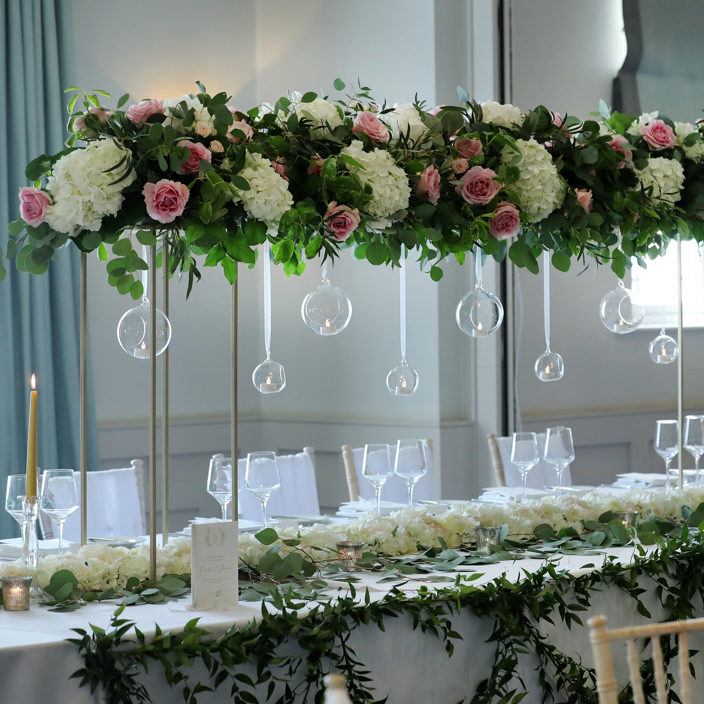 BeUnveiled, Wotton House recommended supplier, Surrey florist