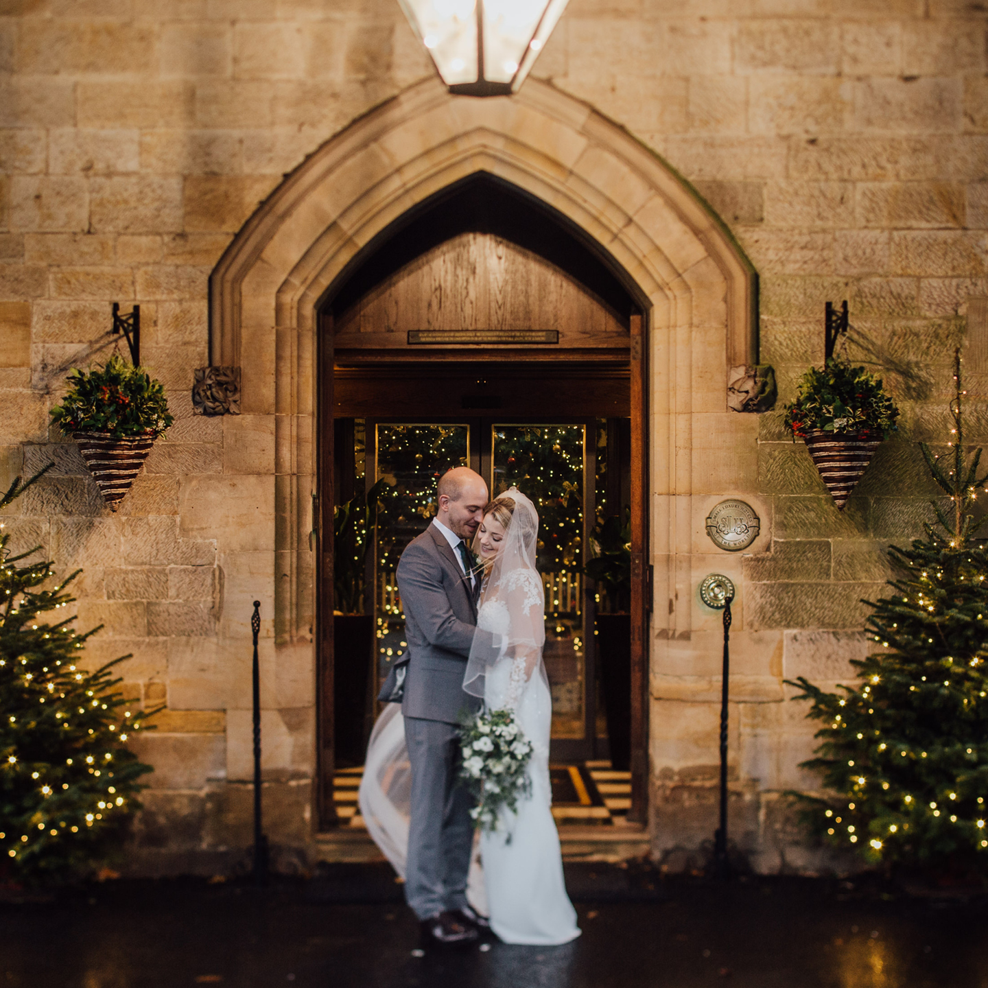 Christmas Disney Wedding, Ashdown Park weddings