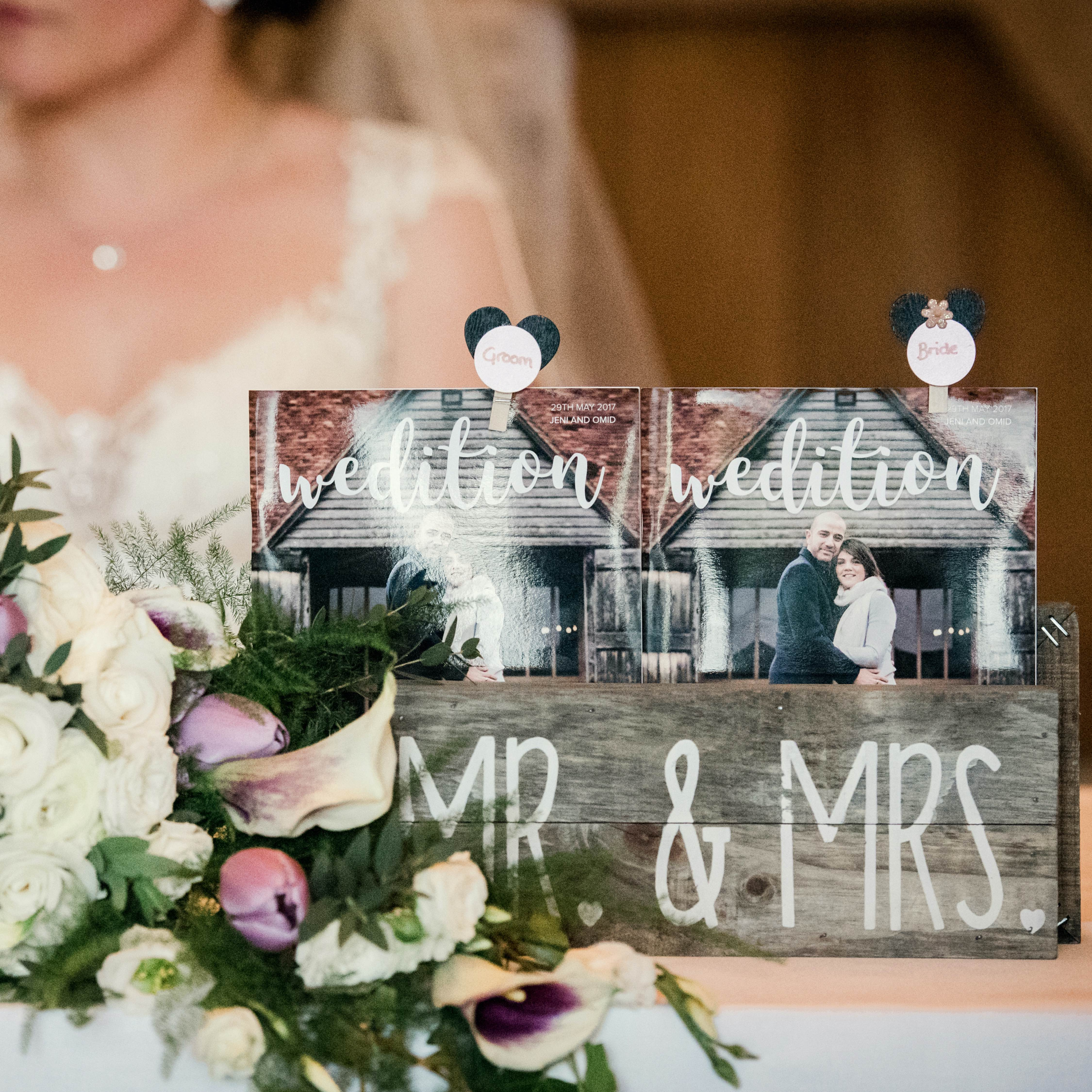 Disney themed wedding table names