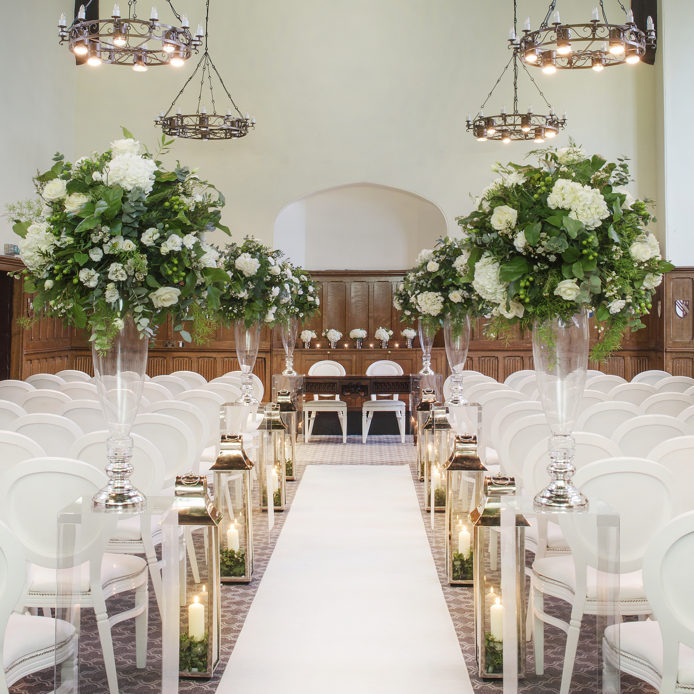 Great Hall at Horsley Towers, De Vere wedding venues, Horsley Estate