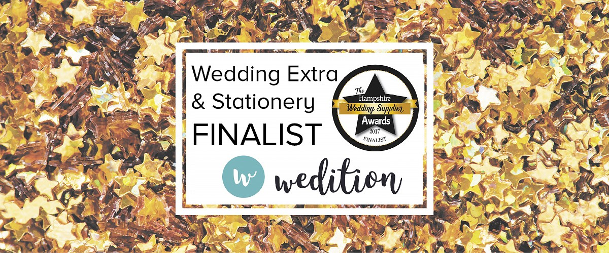 What it feels like to be a Hampshire Wedding Supplier Awards Finalist 2017