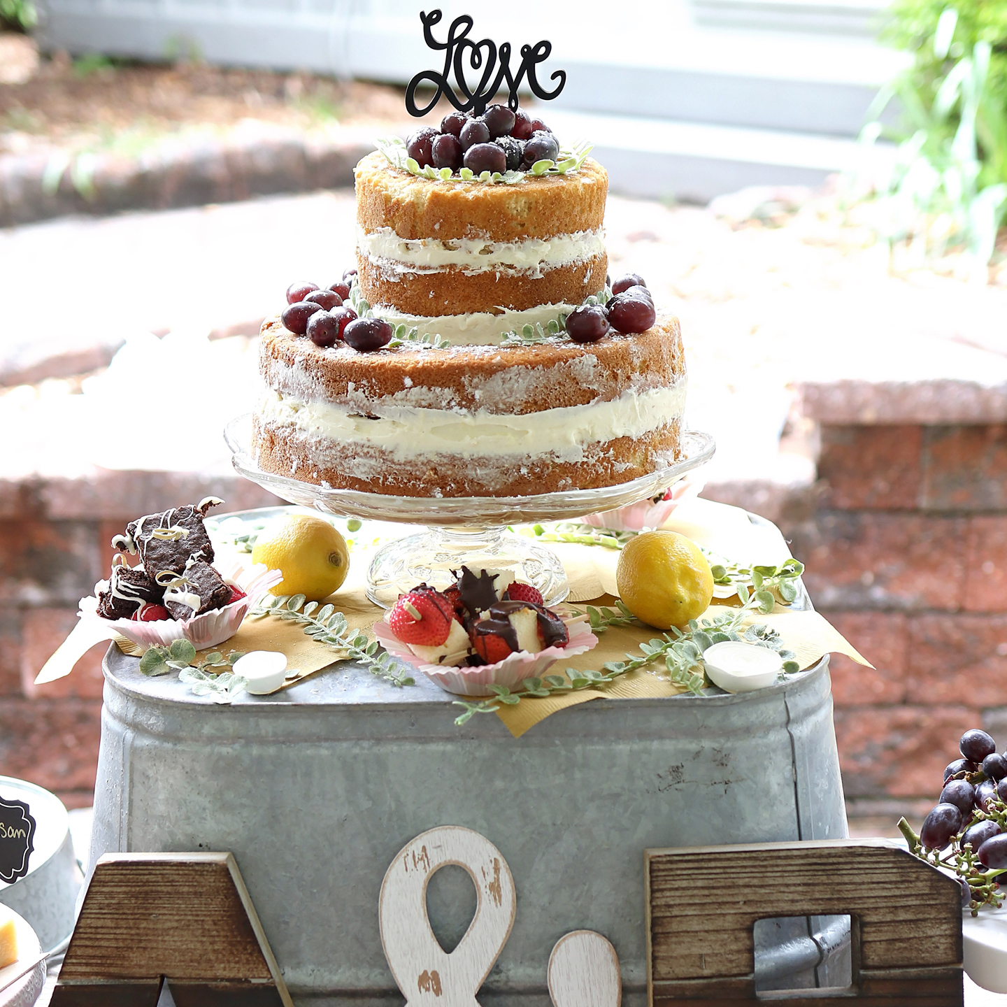 Homemade Wedding Cake.Wedition Top Tips For The Perfect Summer Wedding Cake