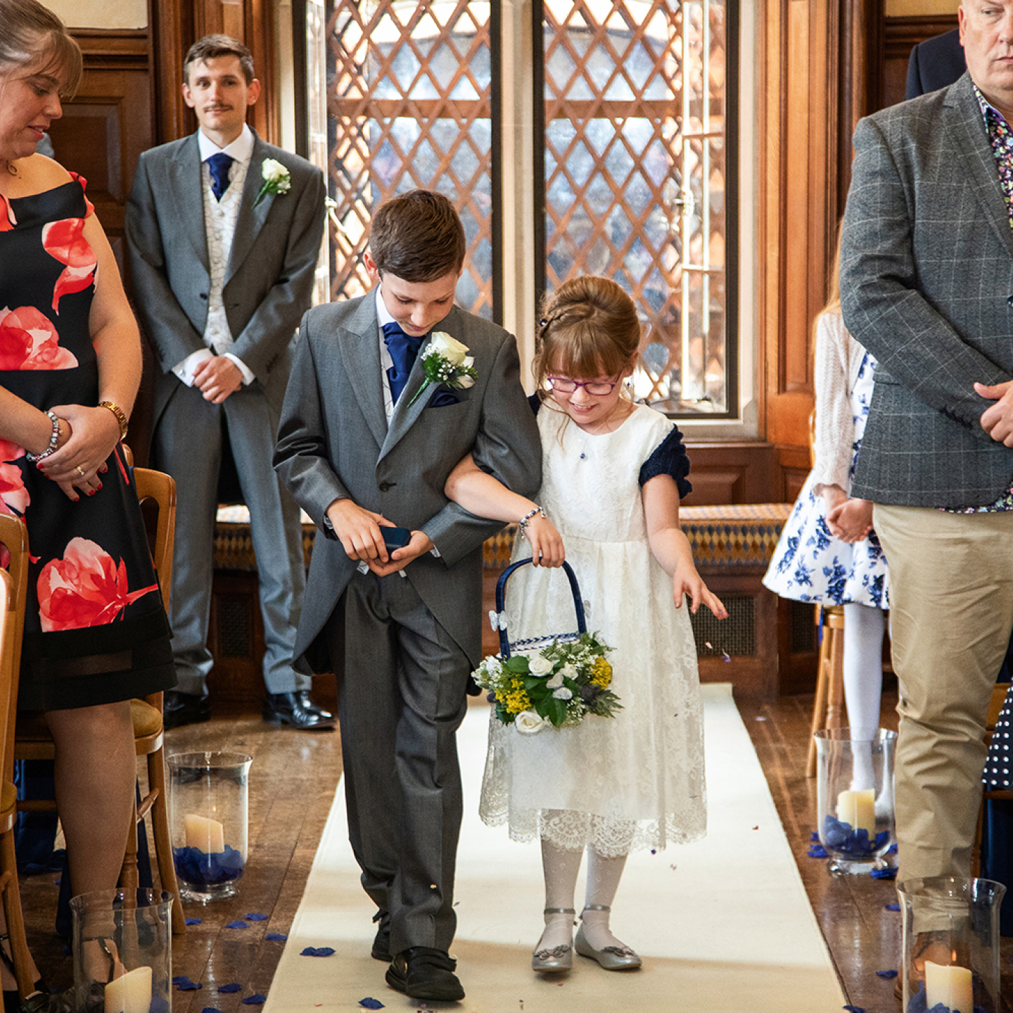 Page boy and flower girl ideas, civil partnership wedding, same sex marriage flower girl and page boy ideas