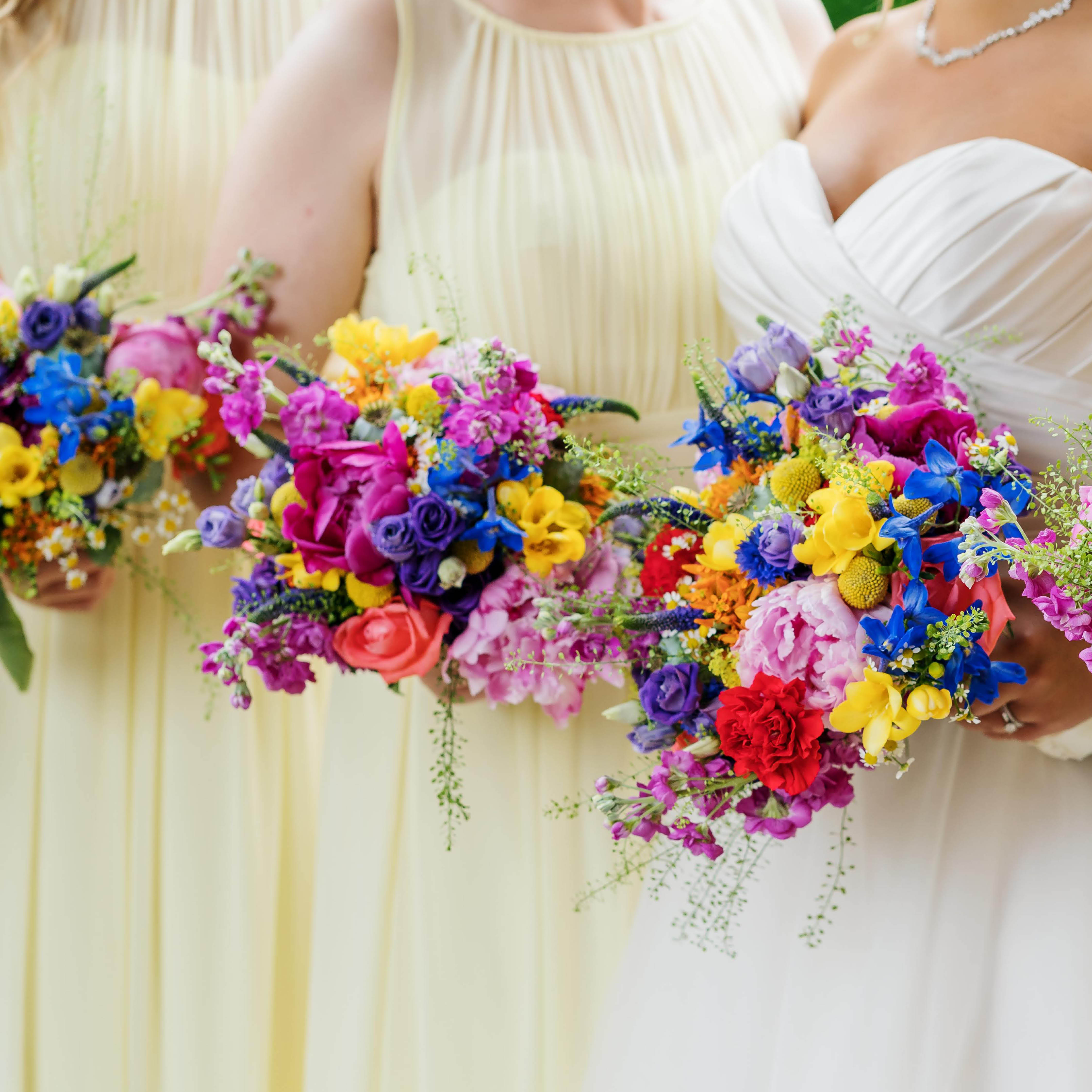 Pantone colour of the year 2021 micro wedding bridesmaids