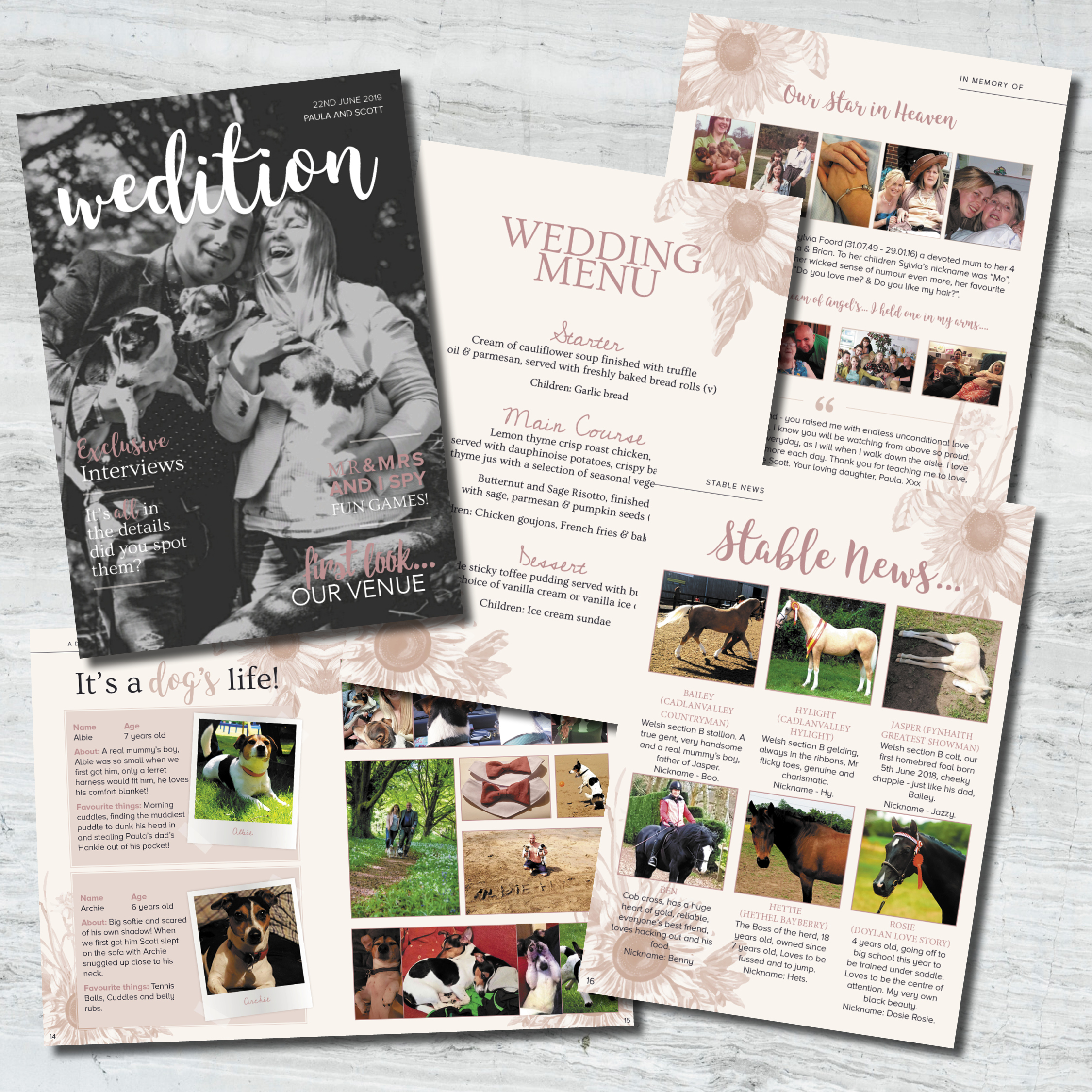 pets at wedding, animals at weddings, animal wedding stationery