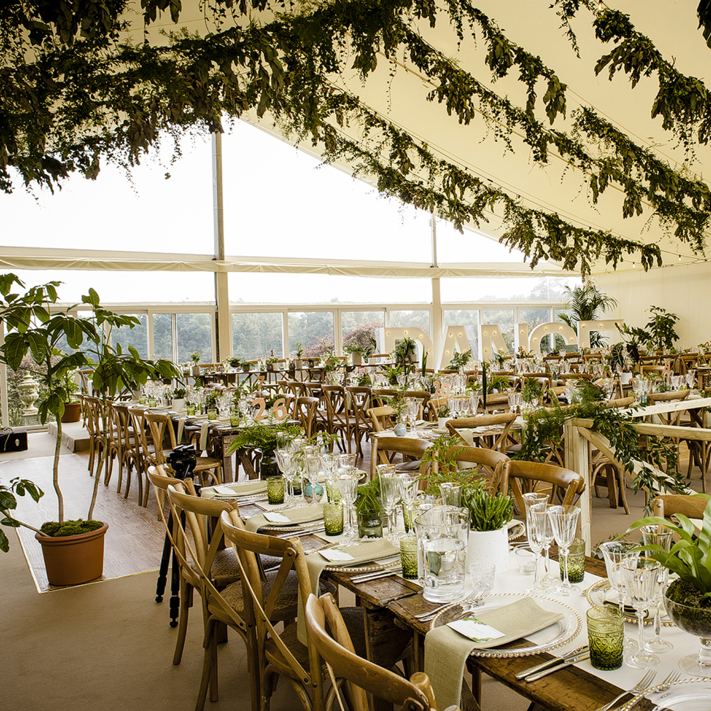 Unique marquee wedding venues