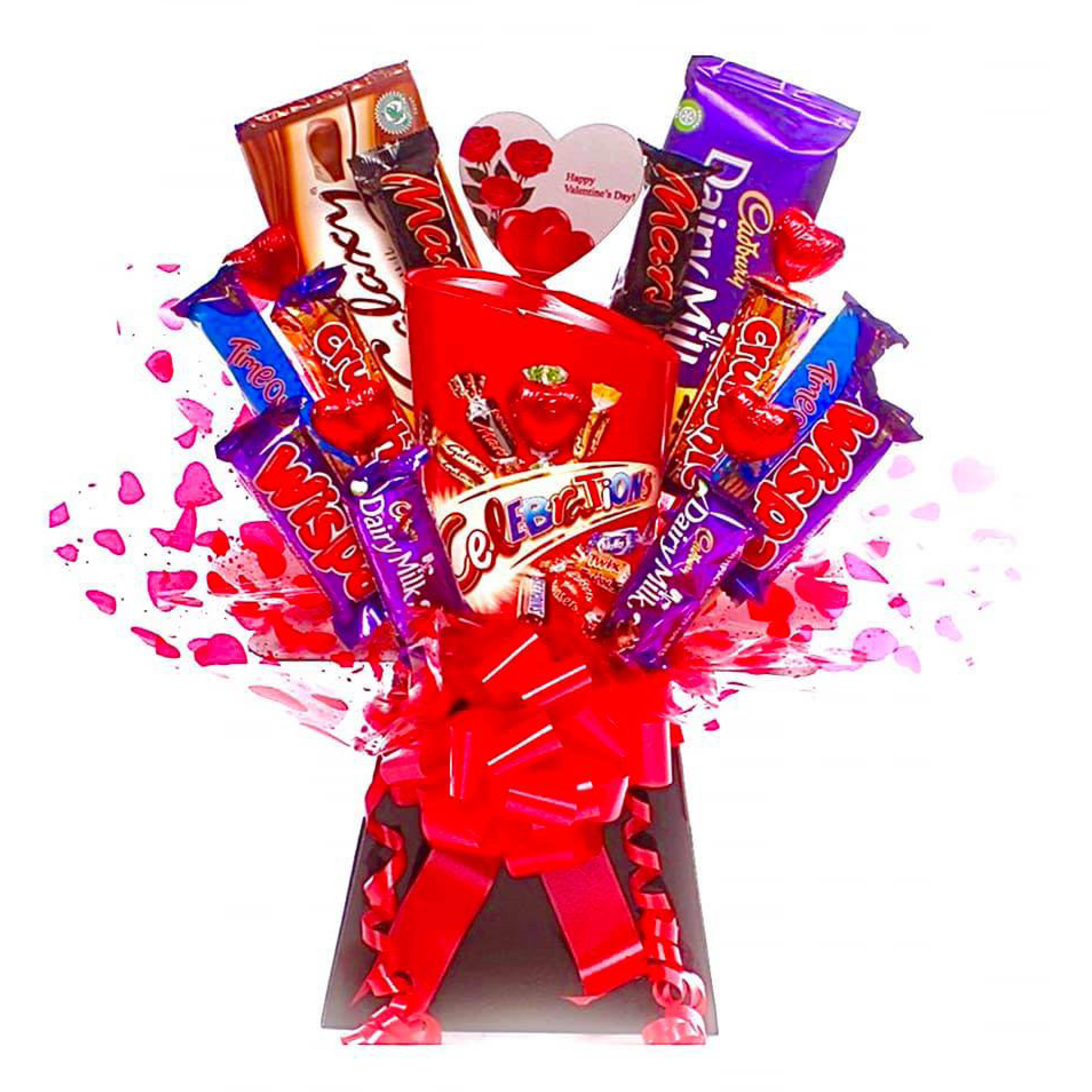 Valentine's Lockdown Gift Buying Guid, Valentines edible bouquet