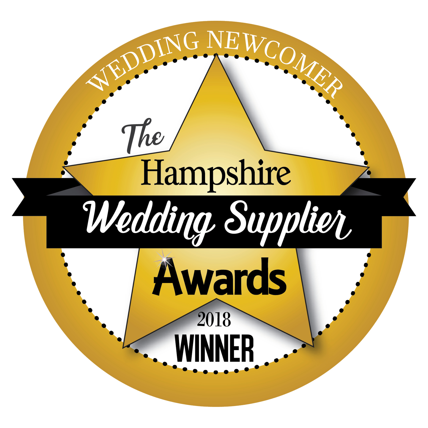 Hampshire Wedding Supplier Awards winners logo