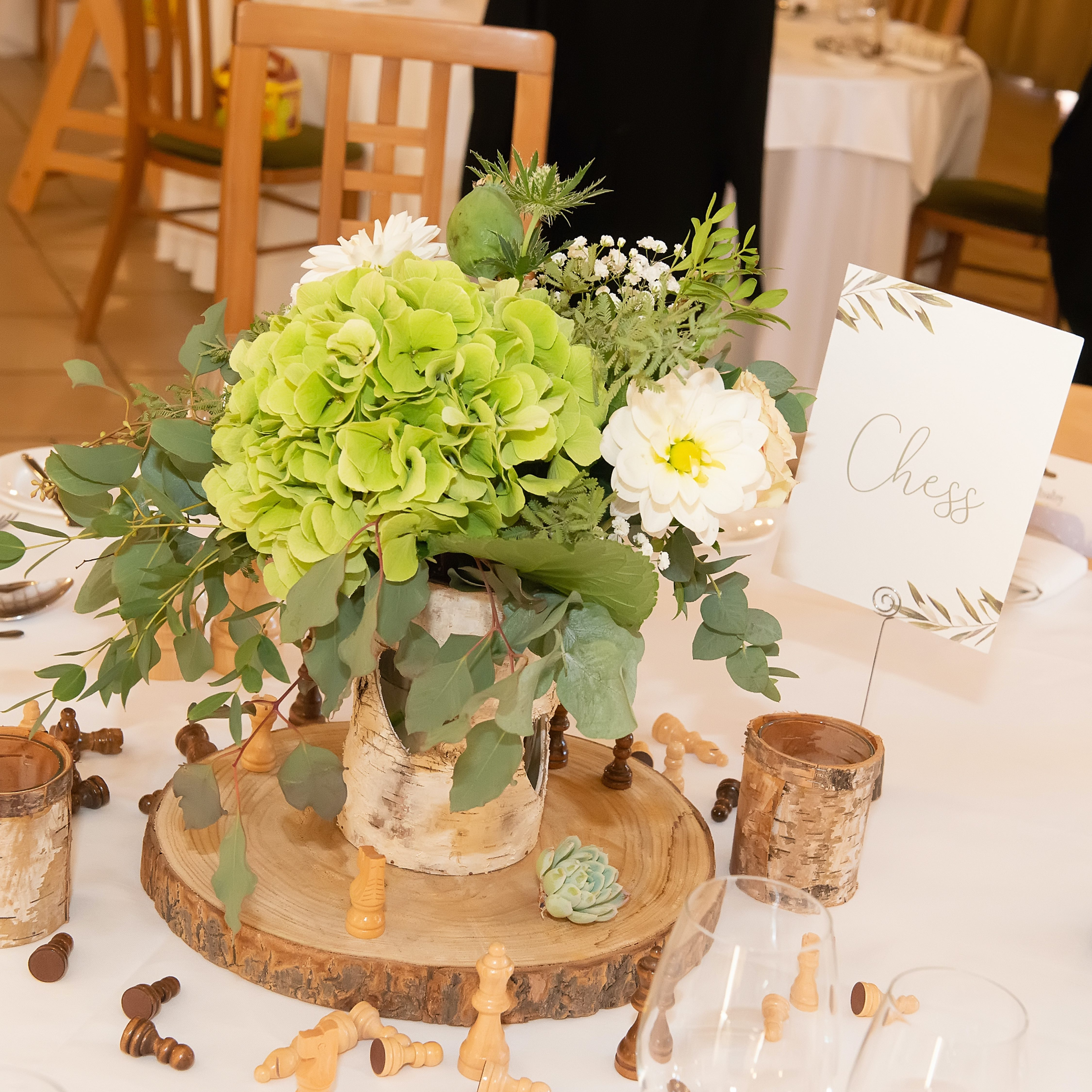 Wedding table name themes