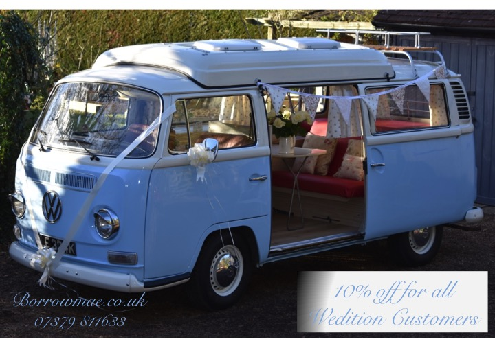 1972 Traditional T2 Blue Camper